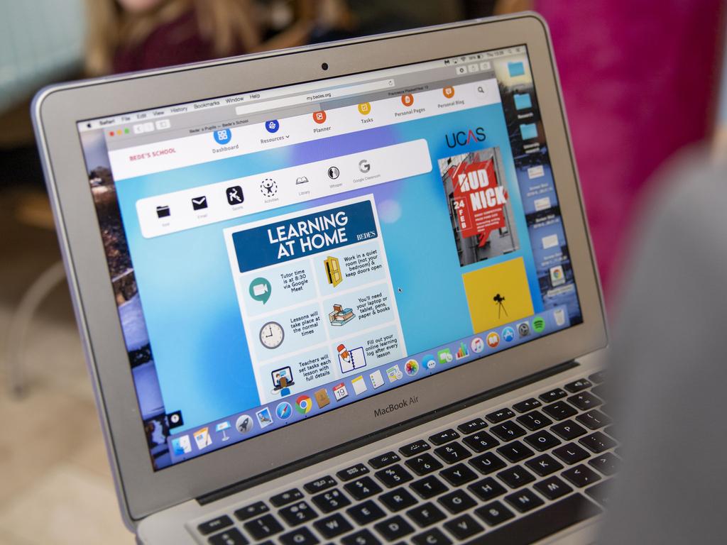 Bede's online learning platform