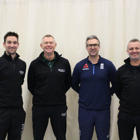 L to R James Kirtley, Alan Wells, Ian Salisbury and Neil Lenham