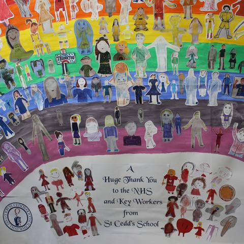 St Cedd's School Rainbow 2020