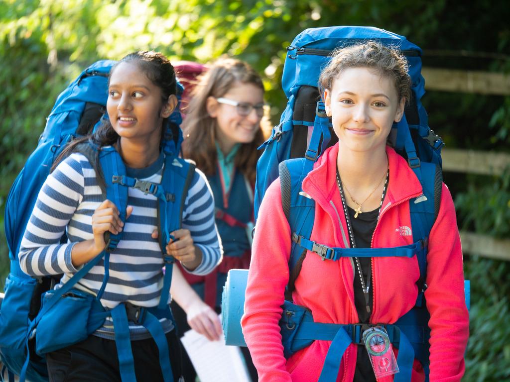 Pupils on Duke of Edinburgh expedition