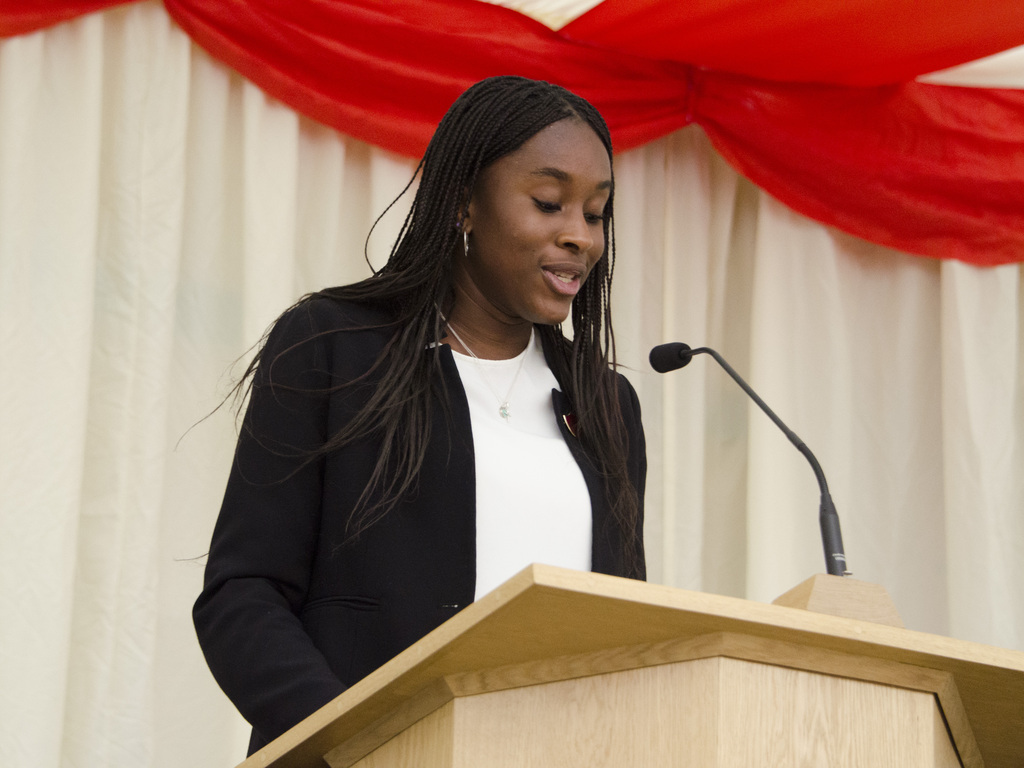 Online talk on 'Conversations about Racism' from former Head Girl Stephanie Bank