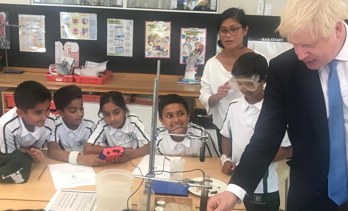 Boris Johnson Science Experiment