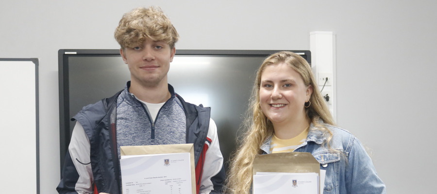 Angus (Head Boy) and Anya (Head Girl) both received outstanding results. Angus: A* A* A* A* & Anya: A* A A B