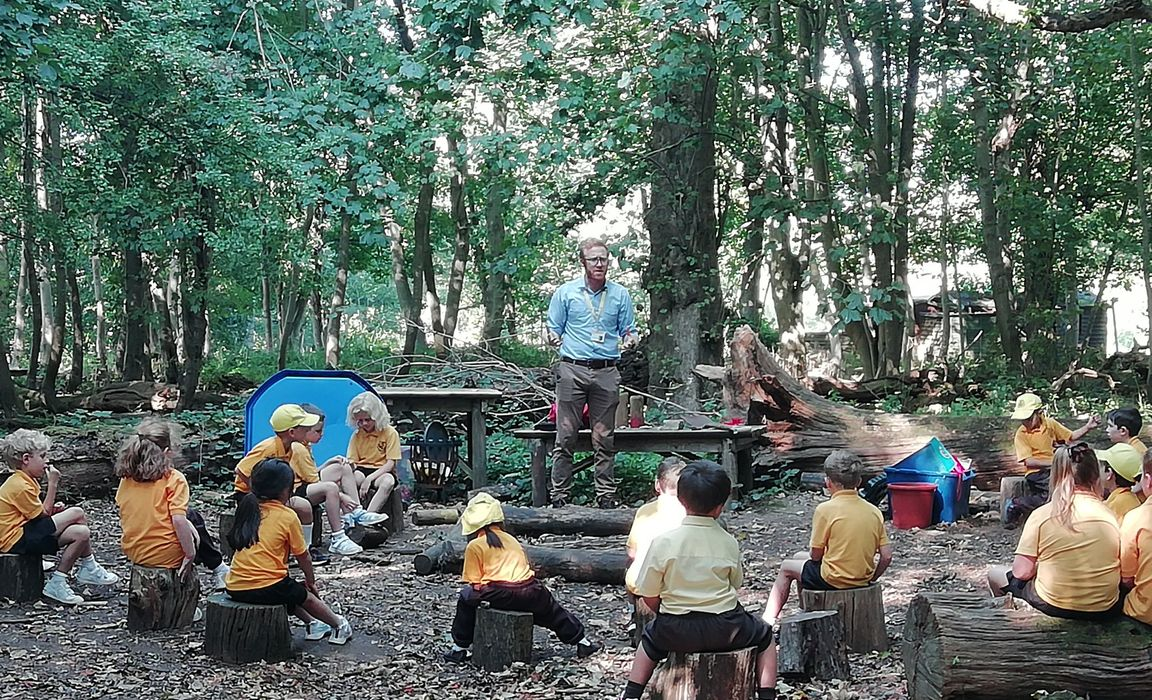 John Mould Forest School Session