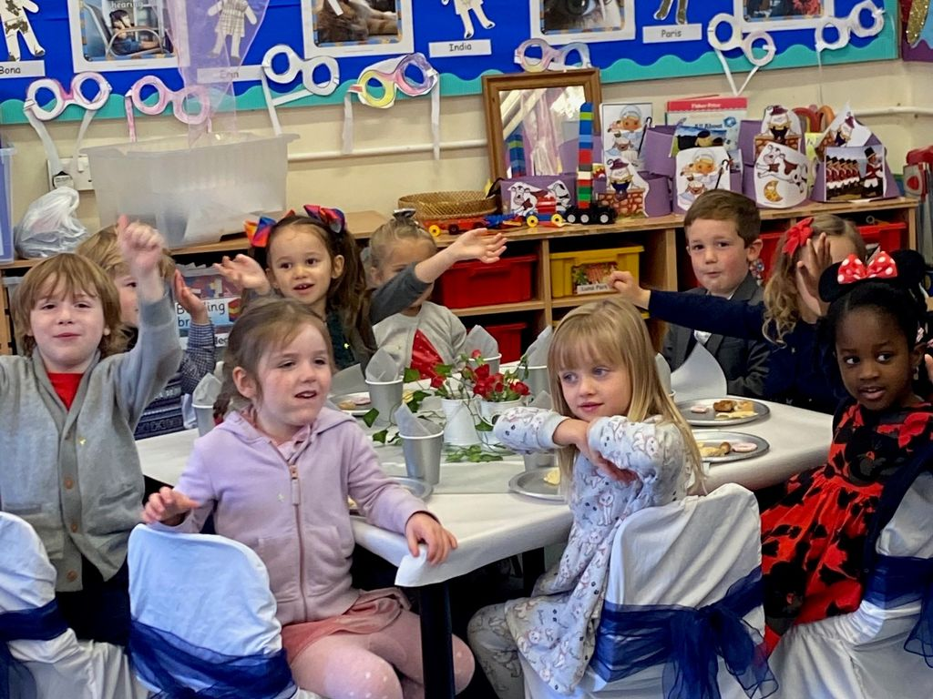 Early Years Enjoying the Feast