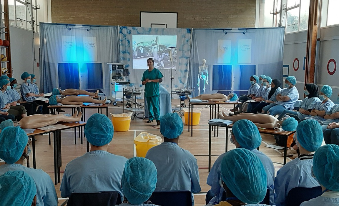 Pupils from throughout Scotland attended Operating Theatre Live