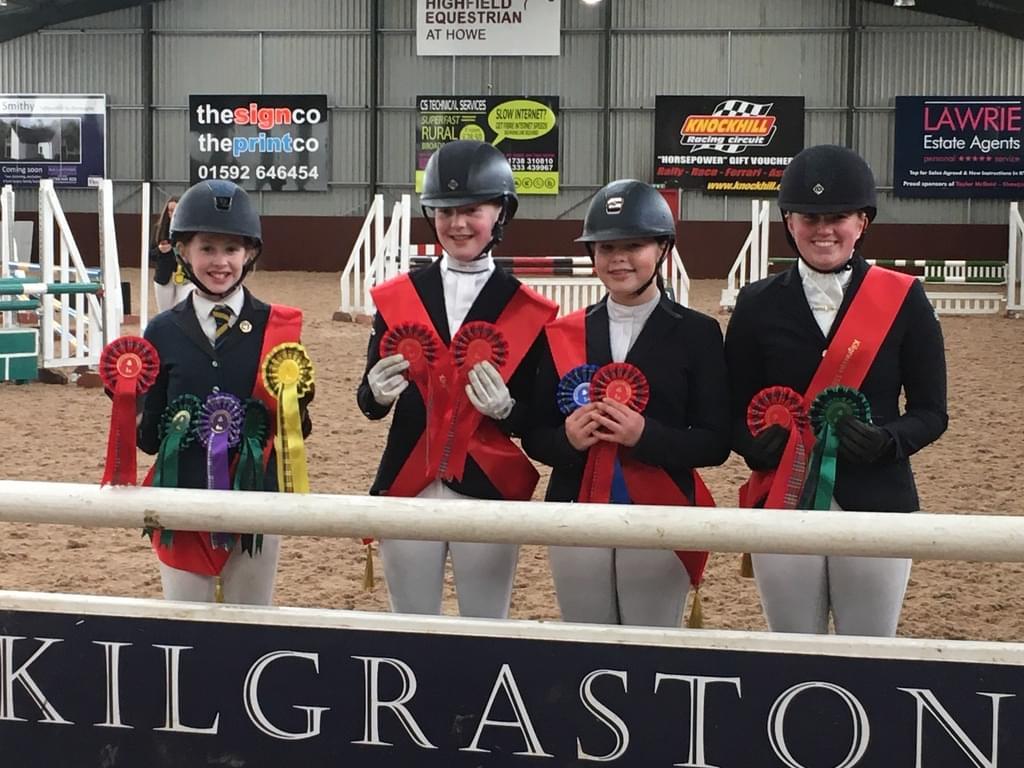 St Margaret's Equestrian Team Success