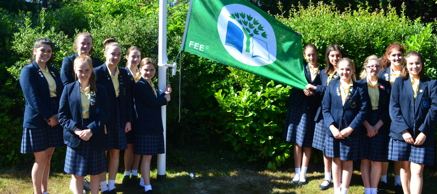 St Marys Colchester Eco Schools Green Flag 1
