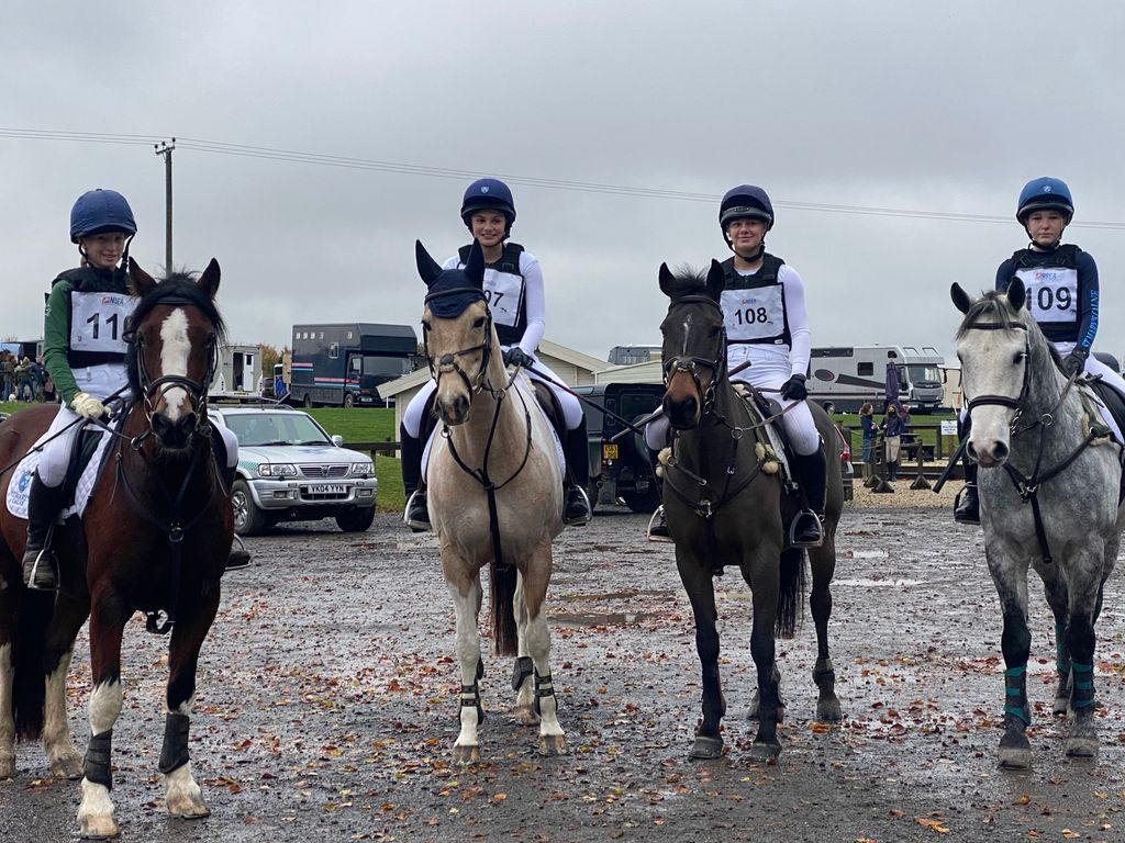 St Mary's Calne Equestrians in fine form
