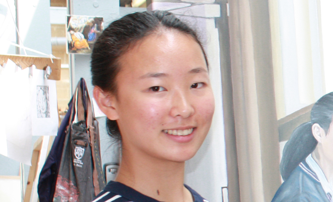Jane Wu, St Mary's Calne Art Scholar