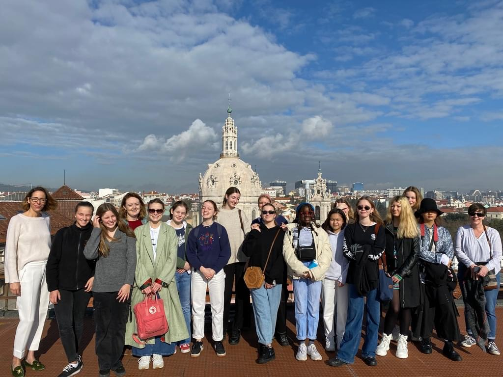 The group in Lisbon