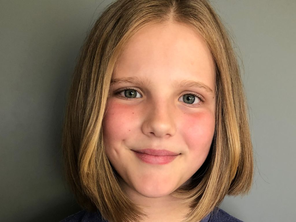 St Mary's pupil donates her hair to the Little Princess Trust