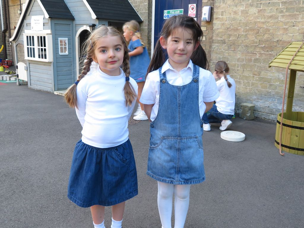 St Mary's Junior Schools raises over £400 for Jeans for Genes Day