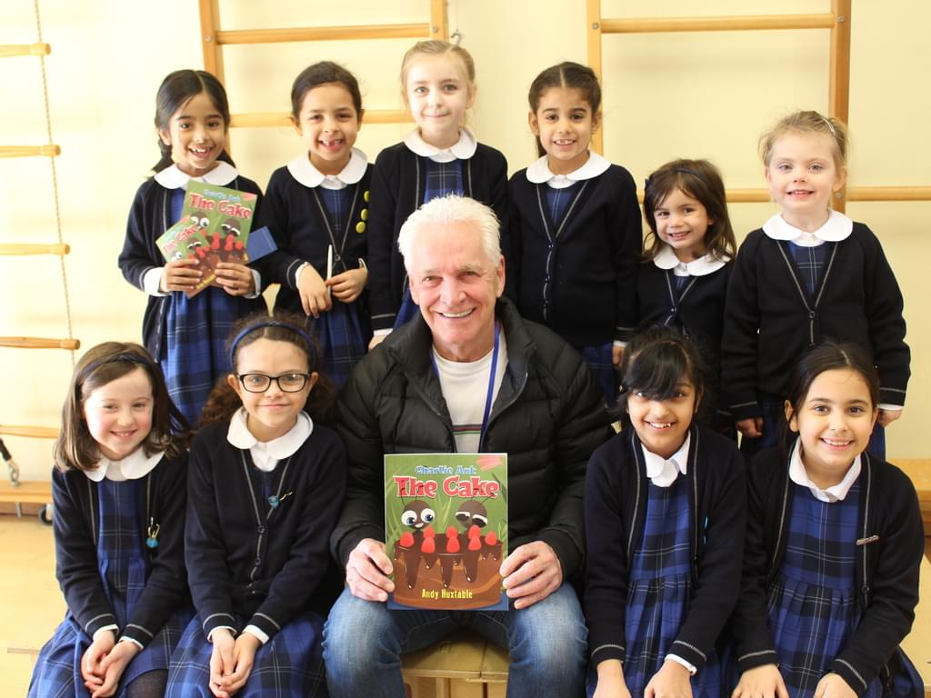 Local Author Visits  St Mary's Prep