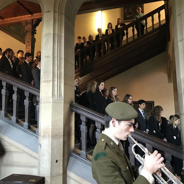 Stonyhurst Monday remembrance 2