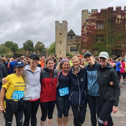 Hever 10k mums' run actual size