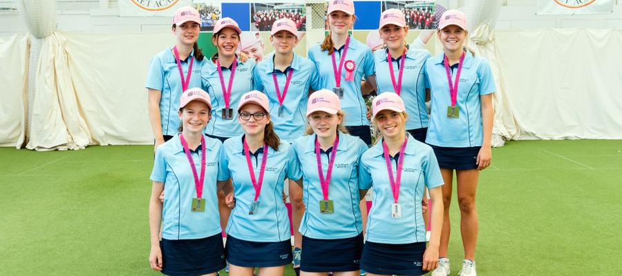 St Swithun's U15 cricket team