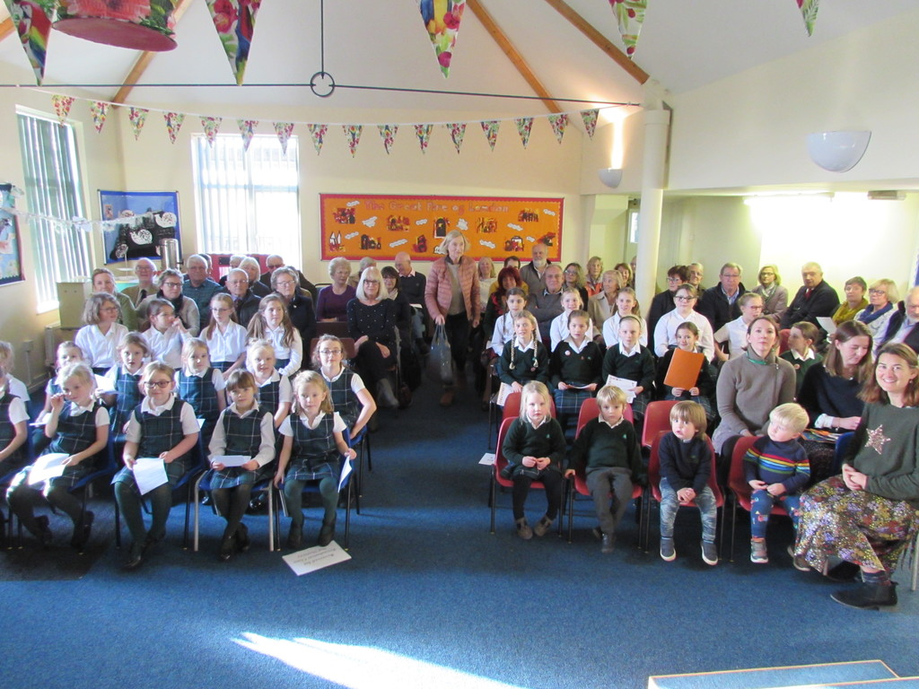 Sunny Hill Prep and Nursery pupils get ready to wow their Grandparents with a show and tell assembly.