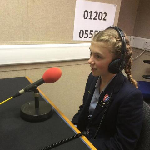 Isabella was interviewed by BBC 5 Live