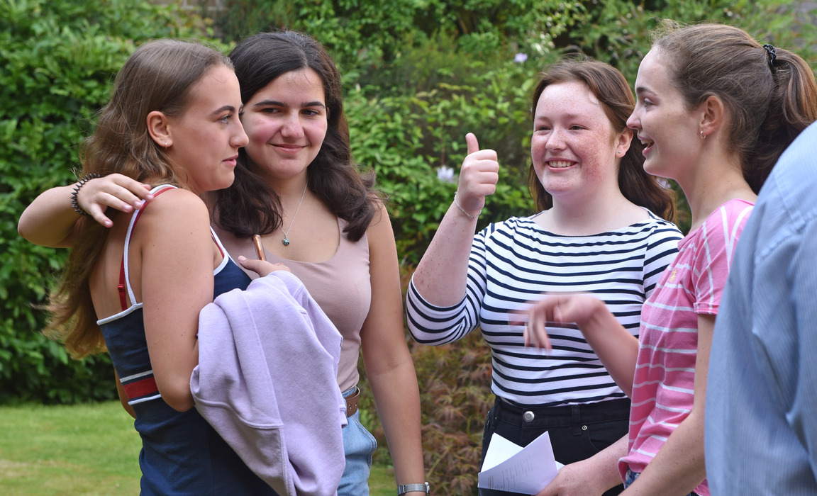 A-Level Results get thumbs-up from TH students