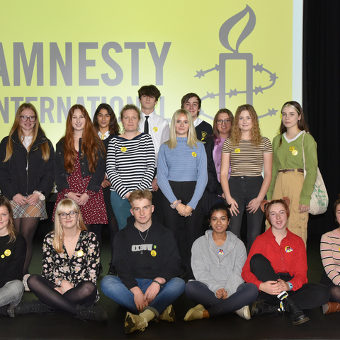 Students from schools across Hampshire and Dorset attended the Conference