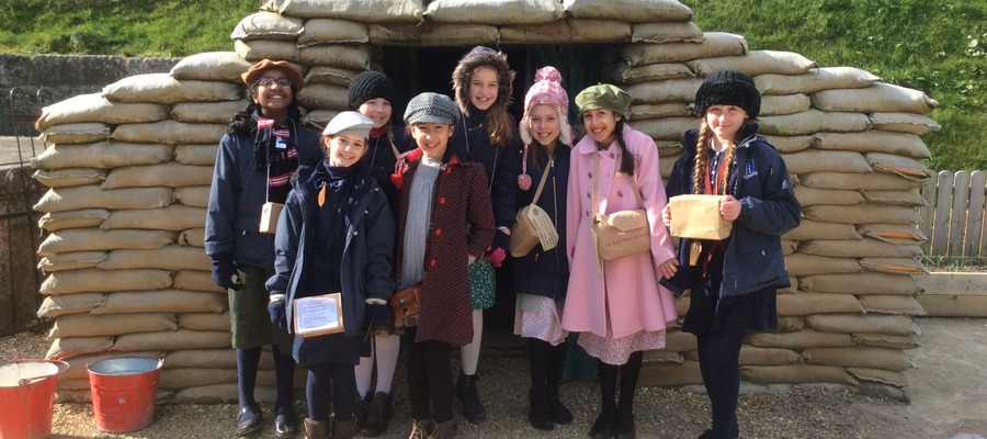 Year 6 Experience 1940 at Nothe Fort
