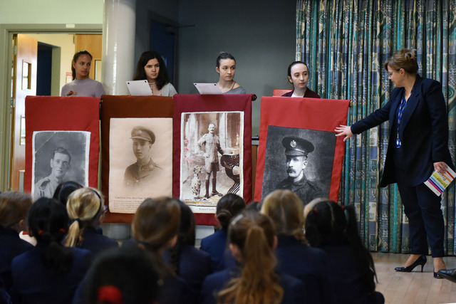 Junior School Remembrance Assembly