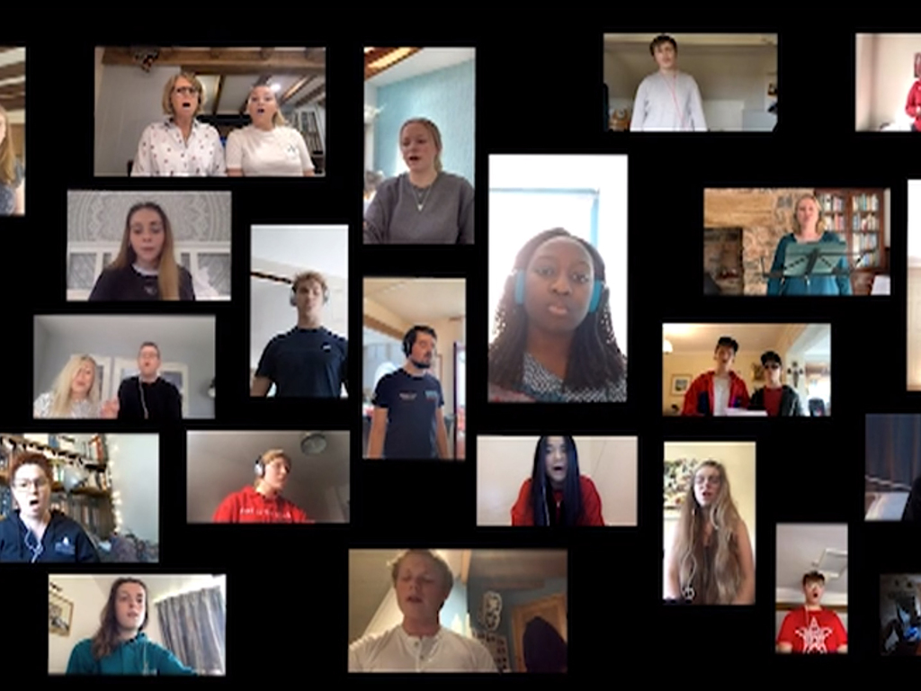 Community Choir You Are Not Alone May 2020