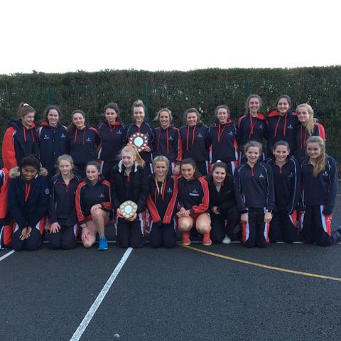 Taunton School Netball U19 and U15 County Champions Mar 2018