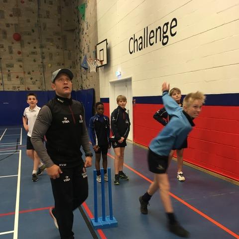 Roelof Van De Merwe coaching TS students