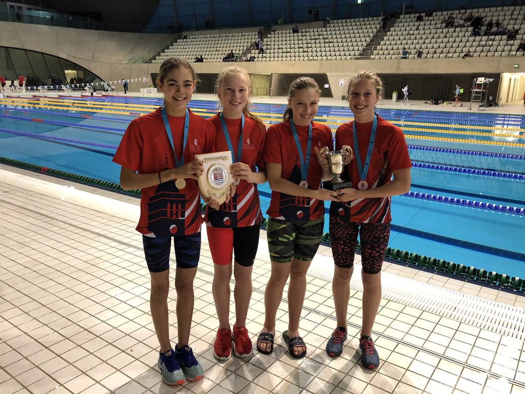 1.Junior Medley Relay Winners Nov 2019