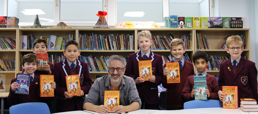 David Baddiel visit to The Beacon 5