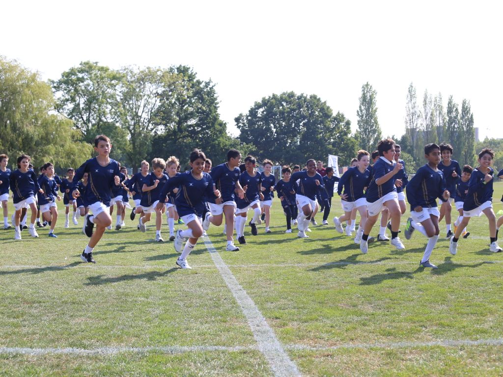 House Cross Country has been one big sporting event to take place so far this school year.