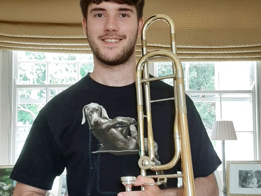 Sebastian Clifford Varley has an orchestral scholarship to Royal Holloway