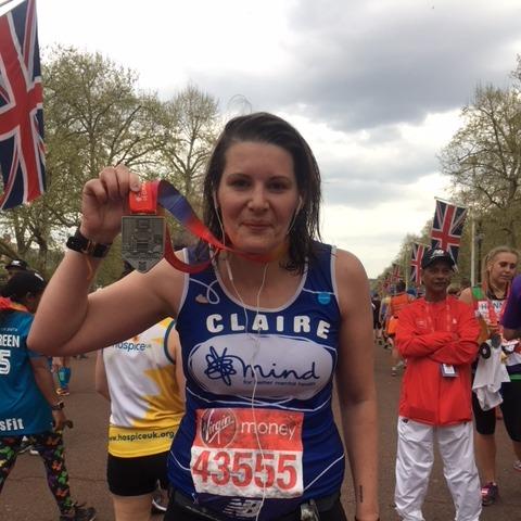 Claire Kyndt Post Marathon 2018
