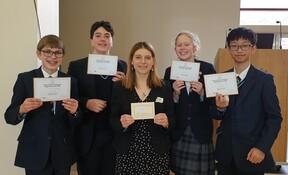 UK Team Maths Challenge Winners 2020