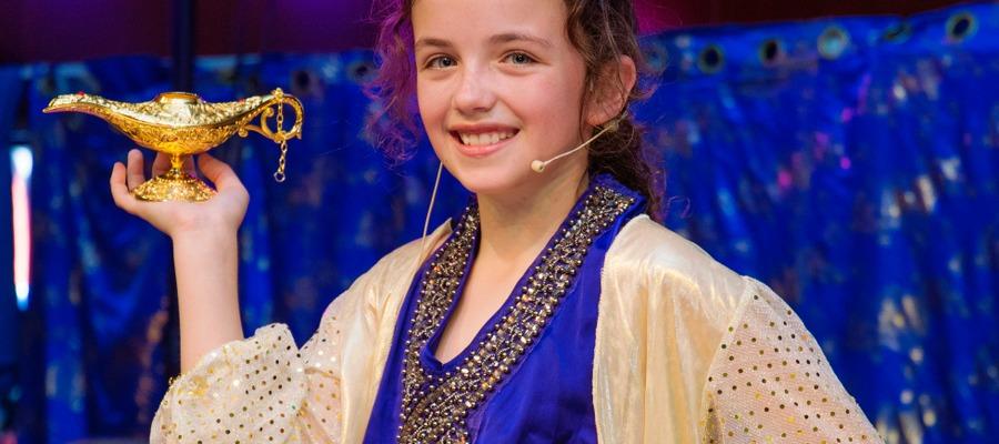 Scarlett Milner as The Genie