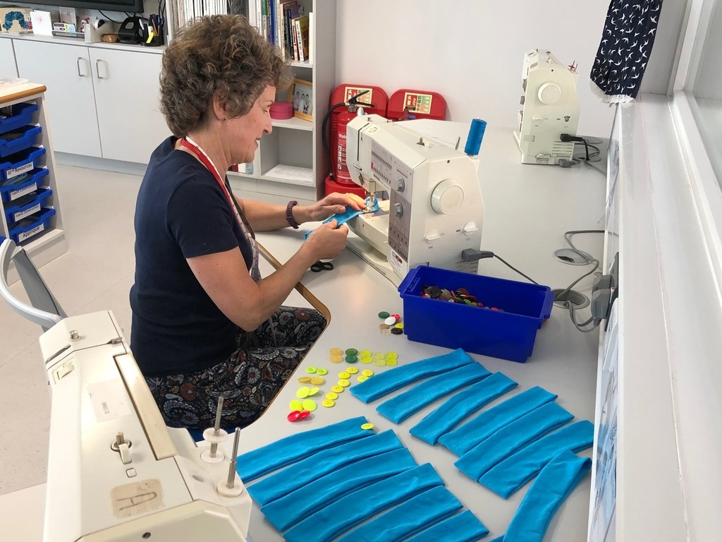LEH Sewing love into every stitch to support the NHS