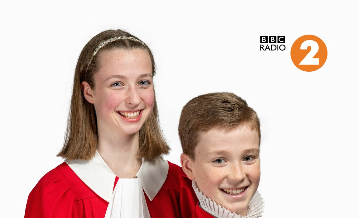 Catherine James, a finalist for the BBC Radio 2 Young Chorister of the Year Competition.