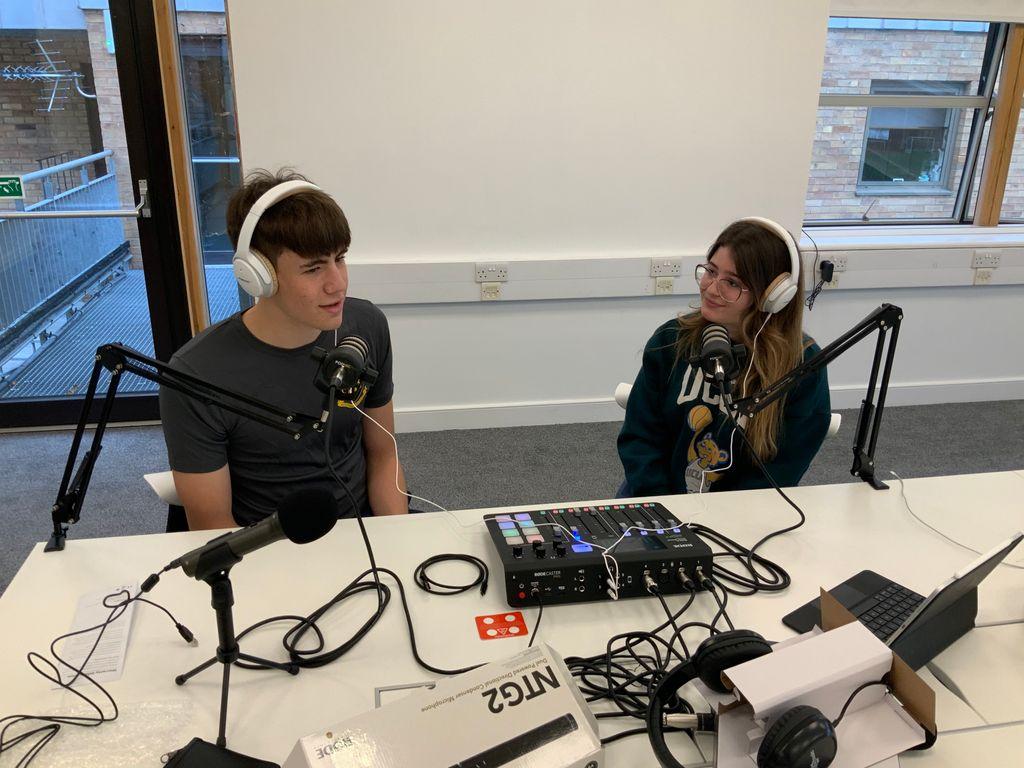 LIT Radio on the air.