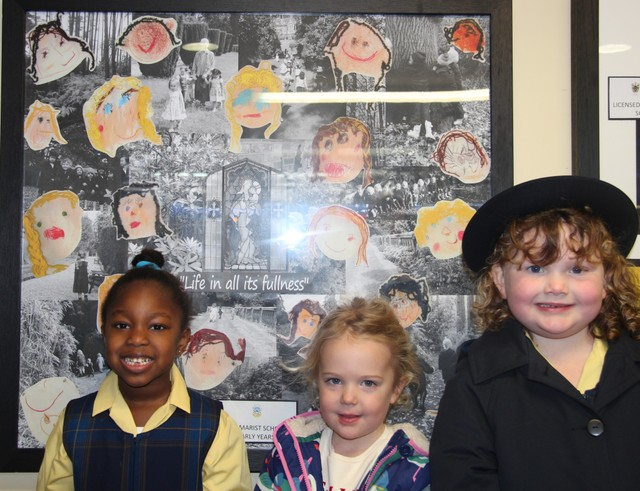Marist Pupils Feature in Art @ The Station Project