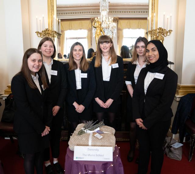 Team Serenity at Buckingham Palace
