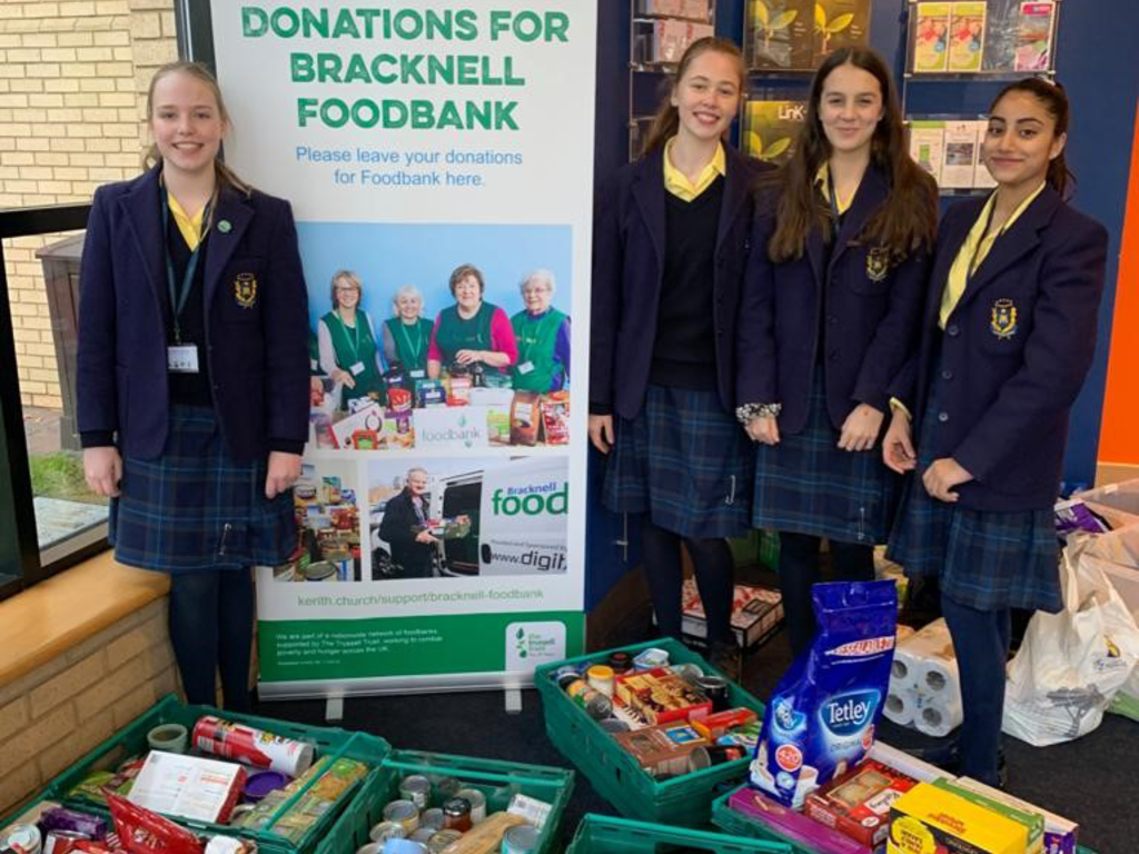 The Marist School Supports Local Foodbank Charity