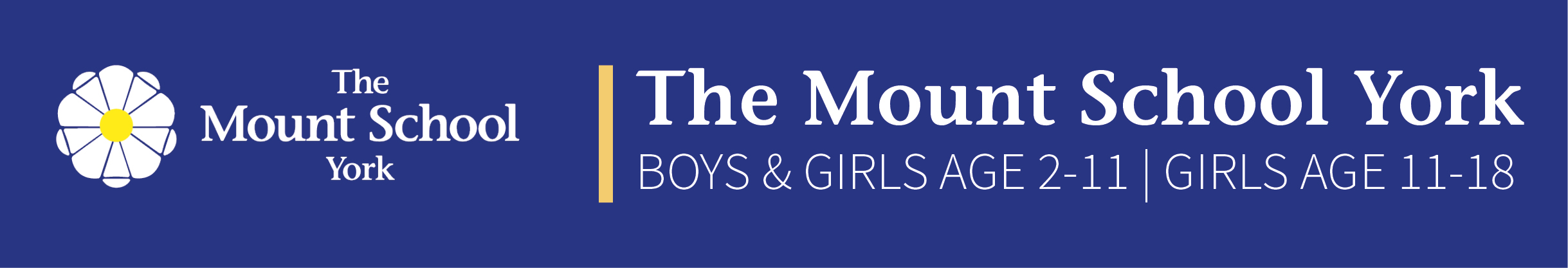 The Mount School logo