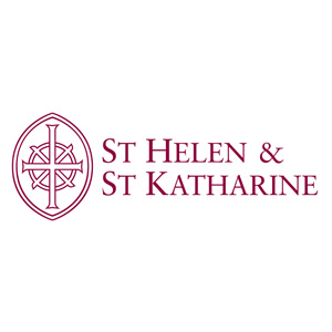 St Helen and St Katharine logo