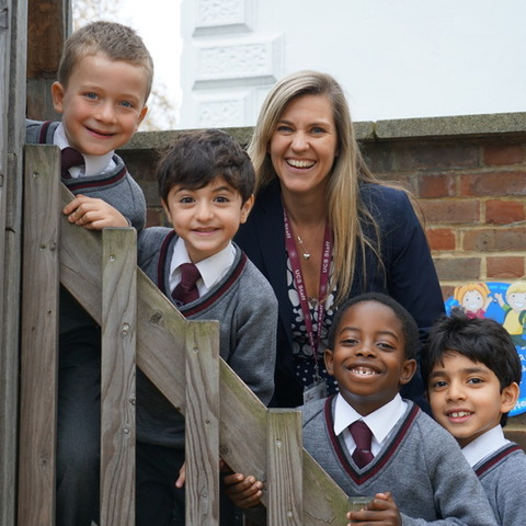 Dr Zoe Dunn, Head of UCS Pre-Prep, was delighted the the school's continual focus on pupils' wellbeing was recognised by the WAS award.