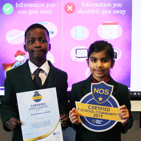 Rowans School NOS Certificate