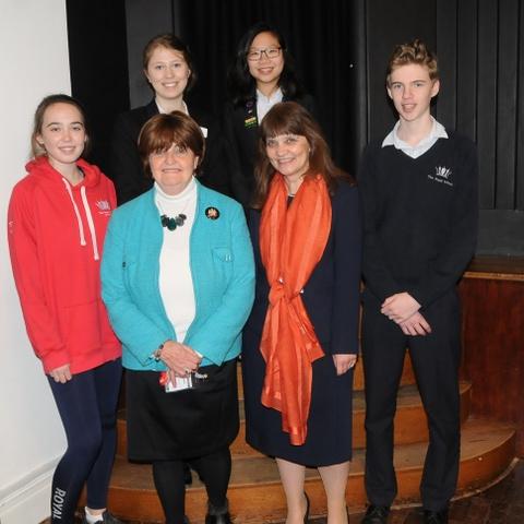 Baroness Cox Herald photo