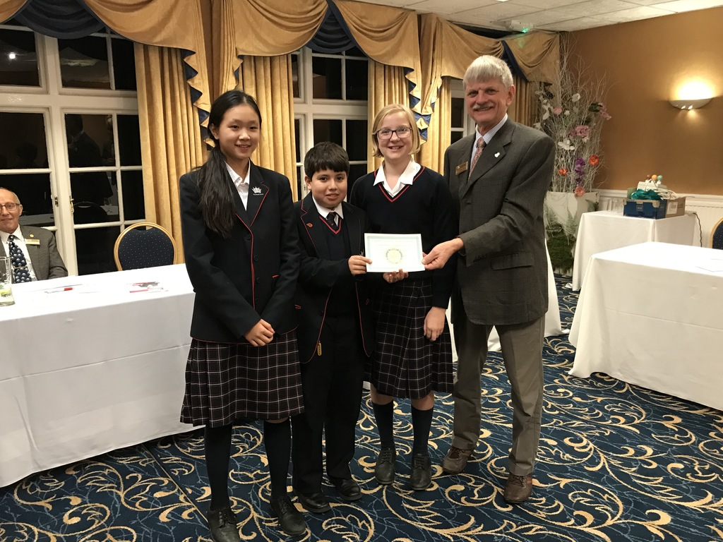 Debating team through to Rotary 'Youth Speaks' District Final