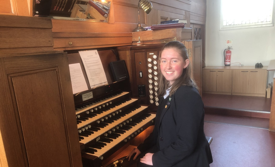 Organ tuition at Royal Hospital School